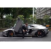 Mercedes And Lamborghini Supercars Slapped With Parking