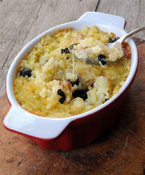 come cucinare il riso in bianco riso in bianco al forno con provola arte in cucina