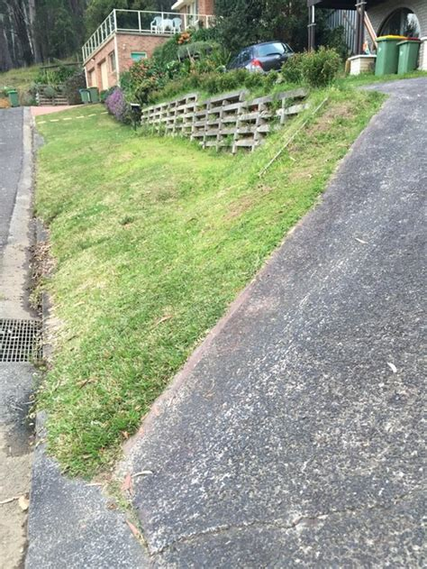 Hill Driveway Design | best option for steps up steep driveway
