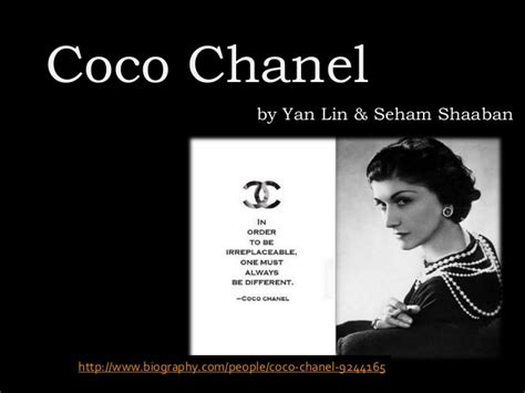Coco Chanel Easy Biography | coco chanel