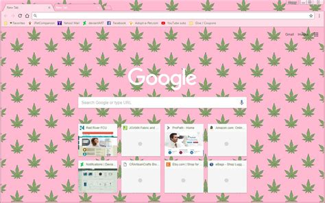 theme google chrome weed cute marijuana weed google chrome theme by sleepy