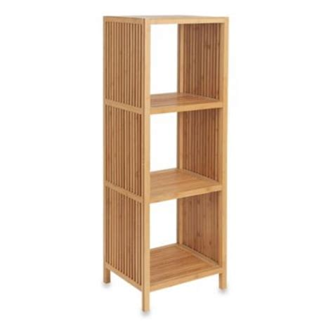 Bamboo Corner Shelf by Buy 4 Tier Bamboo Corner Shelf From Bed Bath Beyond