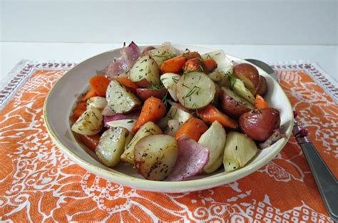 roasted root vegetables with fennel roasted root vegetables