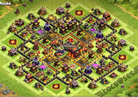 coc layout new update top 16 best th10 farming base 2018 new update 2 bomb