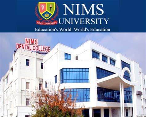 Of Maryland Mba Application Deadlines by Nims Jaipur Md Ms Mds Admission 2016 Dates