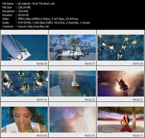 aaliyah rock the boat video download aaliyah rock the boat download high quality video vob