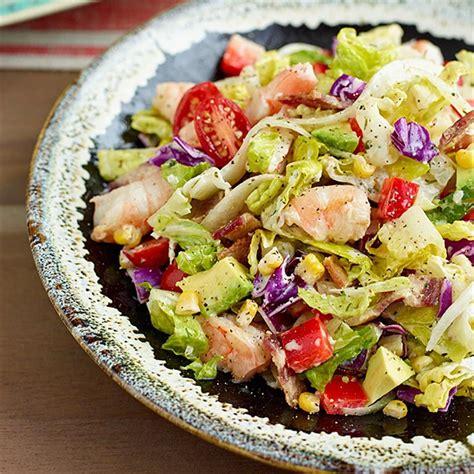 avocado shrimp chopped salad recipe eatingwell