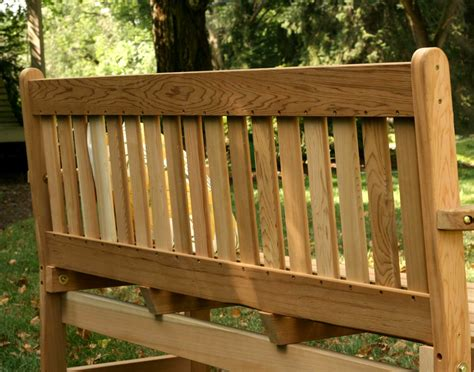english garden bench red cedar english garden bench