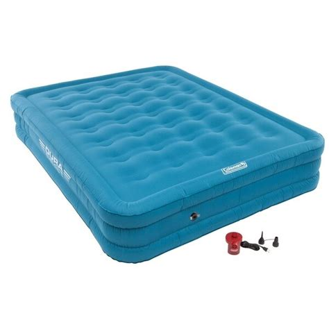 coleman durarest plus high airbed with 120v 17075244 overstock shopping