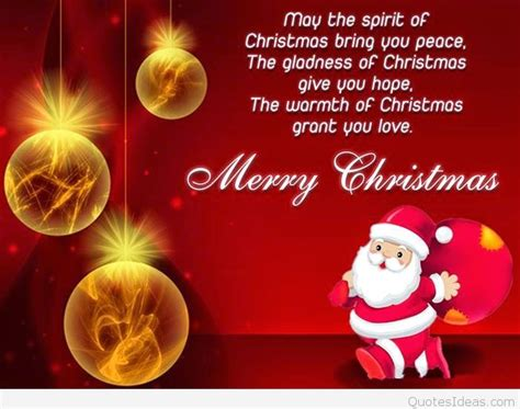 quote merry christmas hd wallpaper hd  santa claus