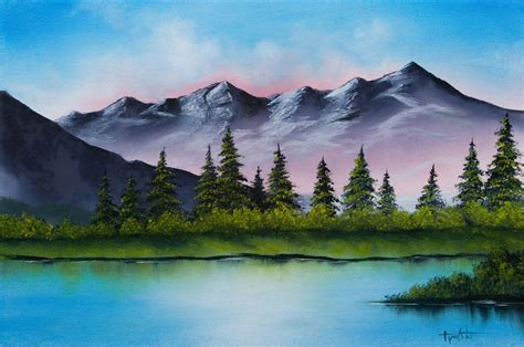 watercolor paintings of mountains www imgkid the image kid has it