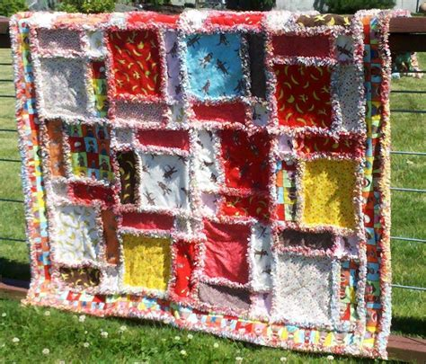Free Rag Quilt Pattern by Rag Quilts On Rag Quilt Flannel Rag Quilts