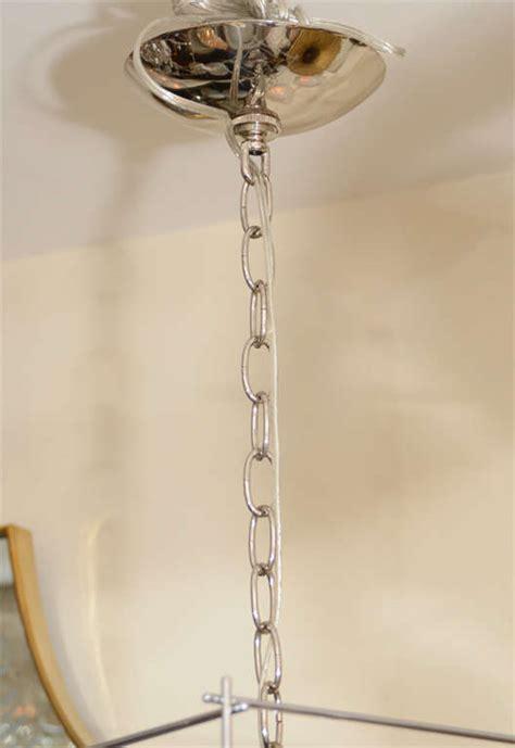 geometric chrome quot wire frame quot pendant ceiling fixtures for