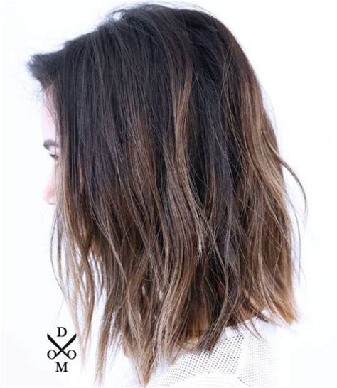 will i suit a lob hairstyle if i have curly hair 1000 ideas about medium choppy haircuts on pinterest