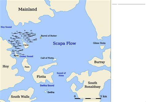 u boat in scapa flow scuttling of the german fleet in scapa flow wiki