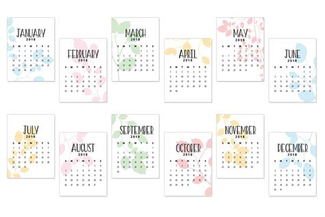 printable planner cards 2018 calendar journal cards love paper crafts