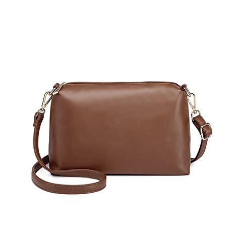Exsper Totte Bag Set 3 In 1 l1435 1 miss lulu leather look large shoulder 3 in 1 tote bag brown