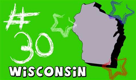 Wisconsin The 30th State welcome to usa 4 wisconsin state information