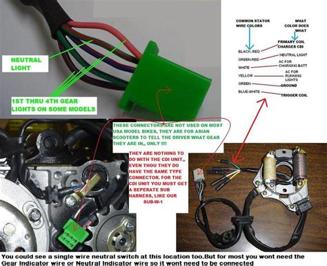ssr 125cc pit bike wiring diagram ssr free engine image