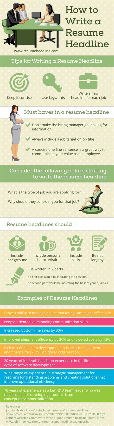 How To Write A Resume Exles by How To Write A Resume Headline 28 Images Resume Title