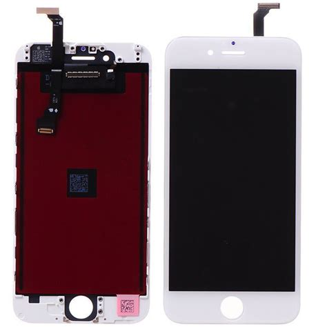 Lcd Iphone 6 Reflika high quality mobile phones lcd display touch screen replacement assembly black and white for
