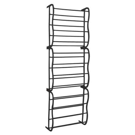 door hanging shoe rack black 36 pair over door hanging shelf shoe rack storage