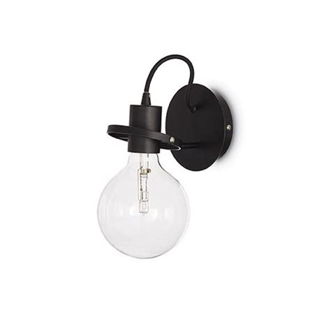 applique ideal applique radio m 233 tal noir ideal luminaire discount