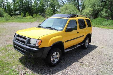 2001 nissan xterra se sell used 2001 nissan xterra se sport utility 4 door 3 3l in columbus pennsylvania united