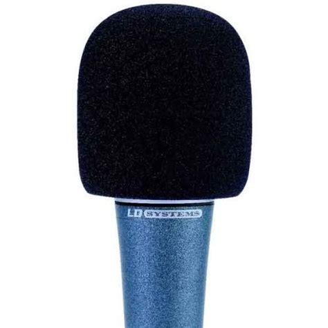 Windschutz Für Eingangstüren windschutz f 195 188 r mikrofone schwarz