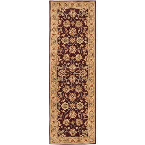 Plum Runner Rug Artistic Weavers Plum 3 Ft X 12 Ft Rug Runner Jhn 1024 The Home Depot