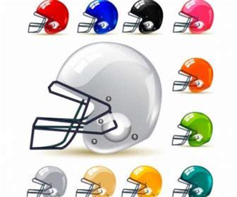 Helm Lapangan olahraga sepak bola vektor olahraga vektor gratis gratis