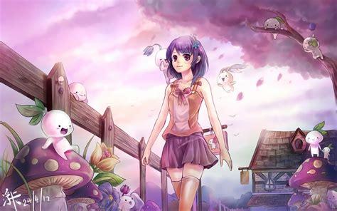 wallpaper anime cute hd cute anime wallpaper hd wallpaper 1260769