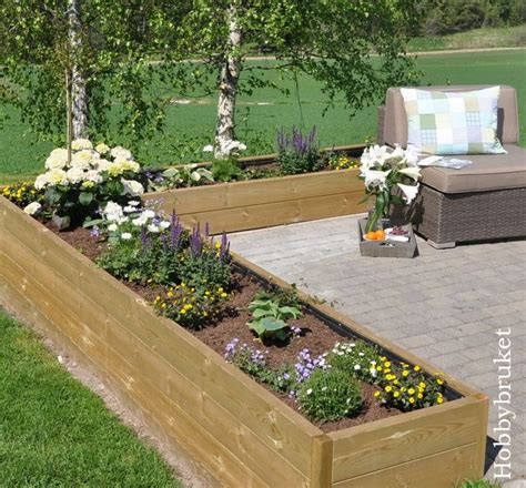 Raised Flower Bed Jardines Pinterest Raised Flower Gardens