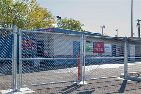 chain link swing gate spokane indians chain gate northwest fence company