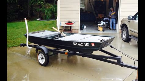 bass boat conversion jon boat to bass boat conversion video doovi