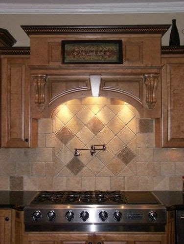 tumbled backsplash pictures tumbled travertine backsplash house