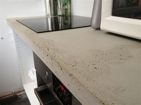 beton mineral plan de travail 1696 plan de travail b 233 ton brut de d 233 coffrage