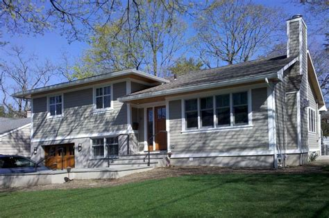 remodel tri level house pictures awesome great split level exterior remodel in ny trim and