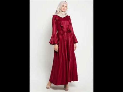 Model Baju Muslim Gamis Terbaru Dan Modern A23 New Caroline Mocca aneka model baju gamis muslim pesta terbaru dan modern