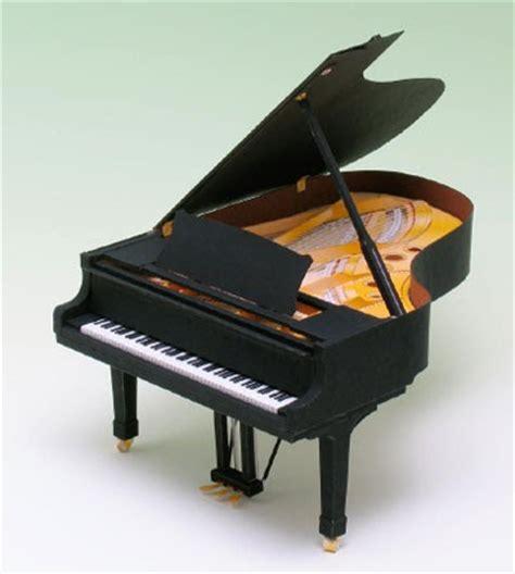 Piano Papercraft - grand piano papercraft paperkraft net free papercraft