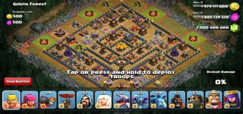 clash of clans mod apk 2016 latest version for android clash of clans unlimited mod hack v7 2 19 v 0 4 apk