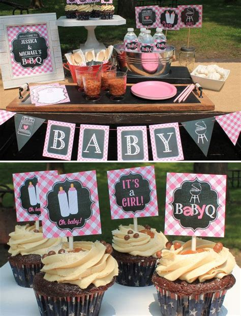 Bbq Baby Shower Decorations by Best 25 Baby Q Shower Ideas On Baby Q