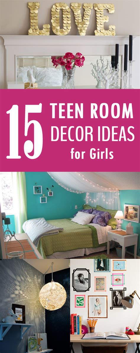 easy decorating ideas for teenage bedrooms 15 easy diy teen room decor ideas for girls