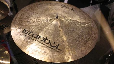 Cymbal Istanbul sold istanbul agop epoch ride cymbal 22 quot 2642 grams
