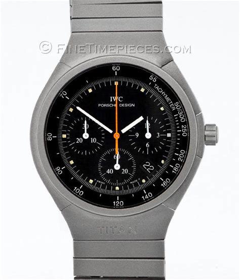 iwc porsche design iwc porsche design chronograph titanium ref 3732