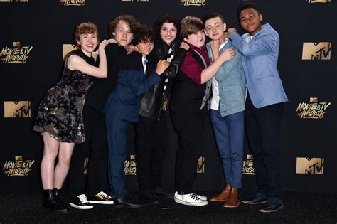 film it actors cast of it at the 2017 mtv movie and tv awards popsugar