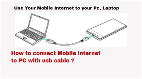 how to connect a how to connect mobile to computer or laptop with