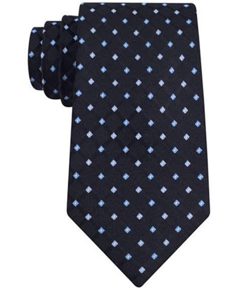 club room ties club room s grid neat tie only at macy s suits suit separates macy s