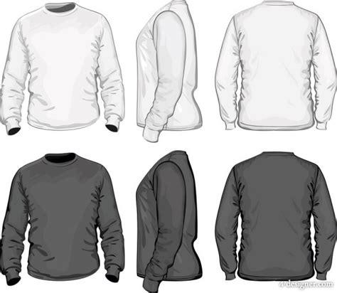 T Shirt Kaos 3d Angry Lengan Panjang Hitam 4 designer stereo shirt template 05 vector material