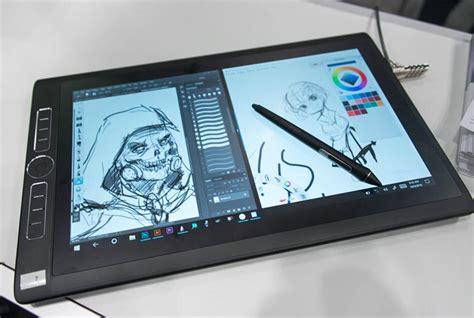 wacom mobilestudio pro 16 stand on with the wacom mobilestudio pro windows 10 tablet